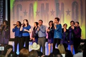 vwise singing group photo
