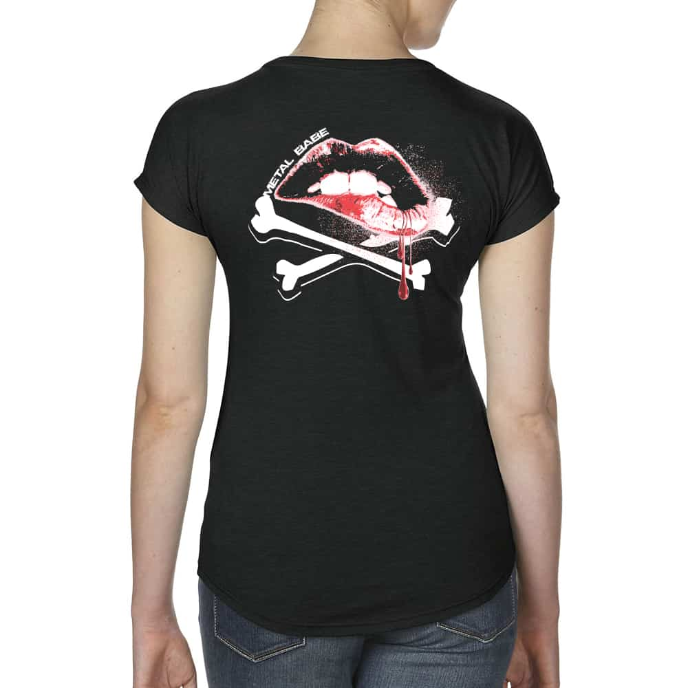 WOMENS VNECK BACK
