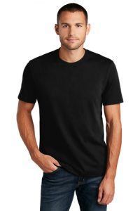 re tee black color men
